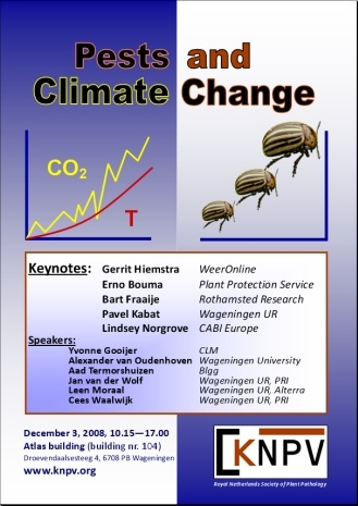 Pests and climate change